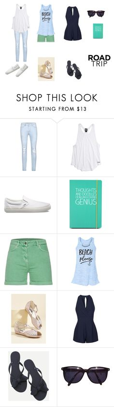 """""""Road Trip Style 2"""" by aliyah-238-daniel ❤ liked on Polyvore featuring Ivy Park, Vans, Happy Jackson, Barbour, Iron Fist, Topshop, WithChic, Sonia Rykiel, roadtrip and contestentry"""