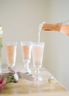 Sparkling Pink Champagne!