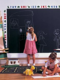 Our Top Chalkboard Paint Ideas   Interior Design Styles and Color Schemes for Home Decorating   HGTV