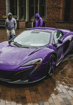 #McLaren in Purple - if money were no object, my dream car in my favourite colour!!