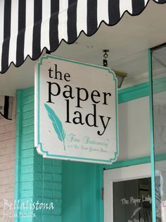I would love to have a paper store!