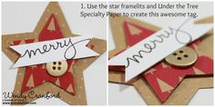 9 Christmas Tag Ideas, Freebie Friday, Stampin UP! holiday gift tags, under the tree paper, mingle all the way, wondrous wreath stamp set. http://www.luvinstampin.com/2014/11/9-christmas-tag-ideas-freebie-friday-40.html