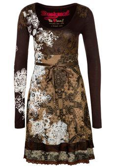 Desigual Lanoria dress brown