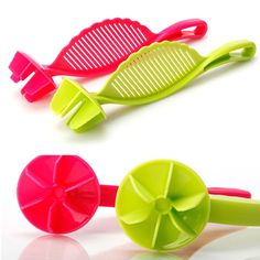 Newcomdigi Durable Multifunction Funnel Rice Wash Tool Sieve Beans Peas Soybean Mungbean Cleaning Gadget Kitchen Strainer Tools