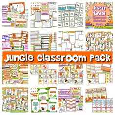 If you are considering the jungle/safari theme this year, this pack will make your classroom completely roar-rific (please see preview at my TpT store - free welcome postcards included)! ($)