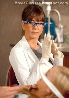 Jennifer Aniston wearing Oakley Eyewear in the movie Horrible Bosses