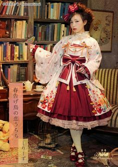 #walolita #classicallolita #classiclolita #lolita #kimono #lolitafashion #lolitasubstyle #lolitasubculture #mixingstyles #combiningstyles #metamorphose #metamorphosetempsdefille #manifestangemetamorphosetempsdefille #mmtdf