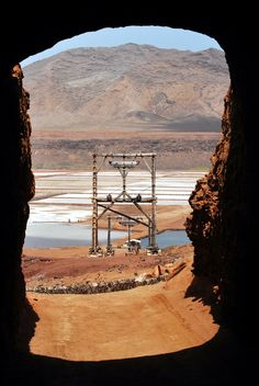 Salinas - Sal Island - Cape verde - Inside the volcano. Great Places, Beautiful Places, Places To Visit, Holiday Places, Holiday Destinations, Cape Verde Holidays, Last Minute Travel Deals, Cap Vert, World Travel Guide