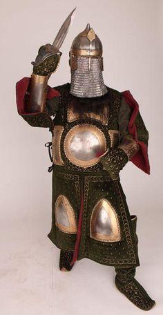 Vestimenta de guerrero del Rajput (India) - Reconstrucción