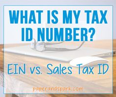 For this Creative Accounting post, I'm going to discuss something I've seen lots of confusion about on the Etsy forums and out on the inter webs -your tax ID number...and what exactly it is. Going...