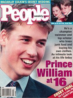 19 Perfect People Magazine Covers From The People Magazine, Rachel Miner, Prince William And Harry, Prince William Young, Wedding People, Prinz William, Prinz Harry, Isabel Ii, Young Prince