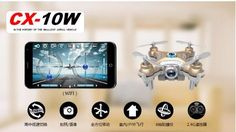 Mobile phone remote control  Quadcopter Aerial WIFI  phone real-time image transmission model airplane remote control aircraft