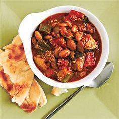 Quinoa and Roasted Pepper Chili   MyRecipes.com