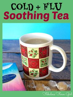 Cold and Flu Tea by FabulousFarmGirl. This delicious, soothing tea is perfect when your sick. It's a wonderful tea to drink when your healthy too.