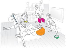 The Home-Body Strength Workout    Become a stronger rider, no gym required.