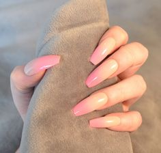 £9.5 GBP - False Nails - Nude Bright Pink Ombre, Baby Boomer - Glue On - The Holy Nail #ebay #Fashion