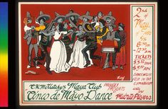 """Cinco de Mayo Dance Announcement Poster-Louie """"The Foot"""" Gonzalez"""