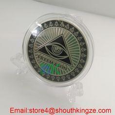 newest  Freemason Masonic Coin  #Aliexpress  #metalcraft #coin #Xmas #valentinesday #gift