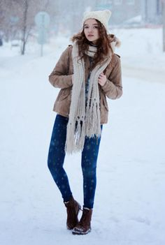 How to look cool when you're bundled up like a kid.