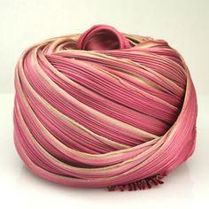 shibori ribbon jewelry | ... Dyed Shibori Silk Ribbon Ecru Rose Shibori Girl Silk Necklace Cord