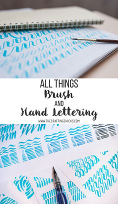 All Things Brush and Hand Lettering - Getting started with Hand Lettering - The best Supplies, Pens, Books, Stencils and Sets Doodle Lettering, Creative Lettering, Brush Lettering, Typography, Lettering Ideas, Hand Lettering Practice, Practice Cursive, Craft Projects For Adults, Calligraphy For Beginners