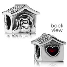 Pandora Doghouse Charm