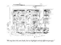 Ancora non capisco cosa mi trattenga dall'autoinvitarmi a cena da voi per guardare insieme le vostre librerie.