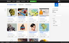 Behance Discover Tab 4.0 by Clément Faydi, via Behance
