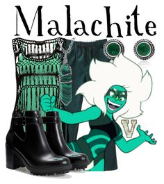 """Malachite (Steven Universe)"" by fabfandoms ❤ liked on Polyvore featuring BKE core and Zara"