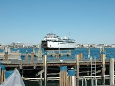 Ferry arriving on Nantucket. this is for you Emma. Most Romantic Places, Beautiful Places In The World, Beautiful Beaches, Nantucket Island, Martha's Vineyard, Just Dream, Small Island, Commonwealth, Far Away