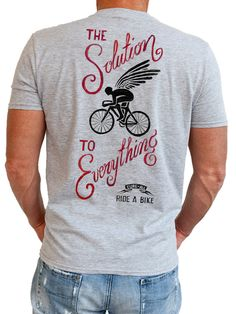 """Cure All"" cycling t shirt, new from Cycology. #cycling t shirts"