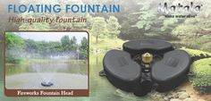 Matala 1/3 HP Floating Fountain System w/ Fountain Nozzle A