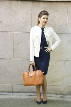 autumn office outfit