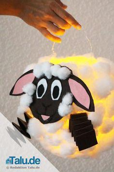 laterne basteln aus luftballon shaun das schaf mit anleitung vorlage adventskalenner diy. Black Bedroom Furniture Sets. Home Design Ideas