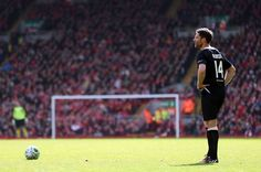 Football - Steven Gerrard All-Stars v Jamie Carragher All-Stars - Liverpool FC Foundation Charity Match - Anfield - 29/3/15 Steven Gerrard All-Stars' Xabi Alonso lines up a free kick Action Images via Reuters / Alex Morton