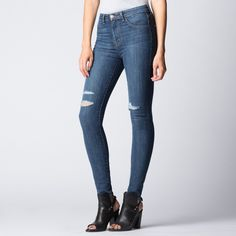 Womens High Waisted Jeans | DSTLD Luxury Jeans & Essentials | No Retail Markup