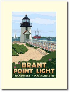 Brant Point Light poster