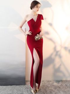 6d83ca7282c5 Buy Party Dresses Maxi Dresses For Women from Misslook at Stylewe. Online  Shopping Stylewe Party Dresses Summer Dresses Wedding Sheath One Shoulder  Folds ...