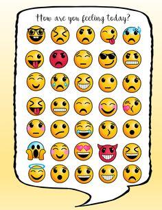 Emoji Emotions Poster