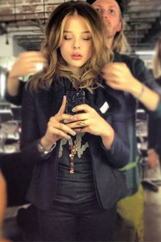 Chloë Grace Moretz hat eine neue Haarfarbe © Twitter