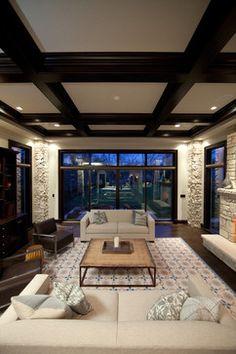 Oakley Home Builder - contemporary - living room - chicago - Oakley Home Builders