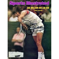 Jimmy Connors Fanatics Authentic Autographed May 5, 1975 Sports Illustrated - $119.99
