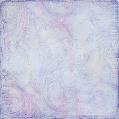 vintage script blue/purple background