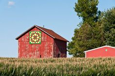 Green County barn quilt