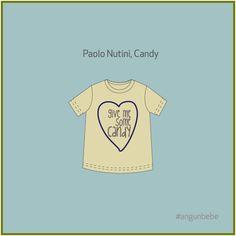 t-shirt paolo nutini Candy Ang un bebè