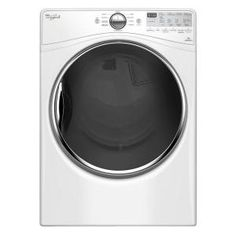 Whirlpool 7.4 cu. ft. Electric Dryer with Steam in White, ENERGY STAR WED92HEFW at The Home Depot - Mobile
