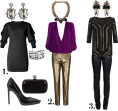 """Blog post featuring this set http://boundlessbeautyblog.com/?p=1466  """"Holiday Outfits for Party Crashing with Friends"""" by boundlessbeauty on Polyvore"""