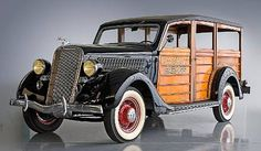 1935 Ford Woody