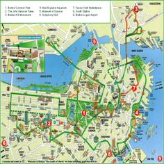 10 Best Boston Maps images