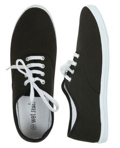 Solid Tennis Shoe - Teen Clothing by Wet Seal - StyleSays